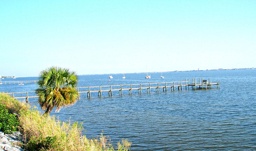 Camelot RV Park, Indian River Lagoon.