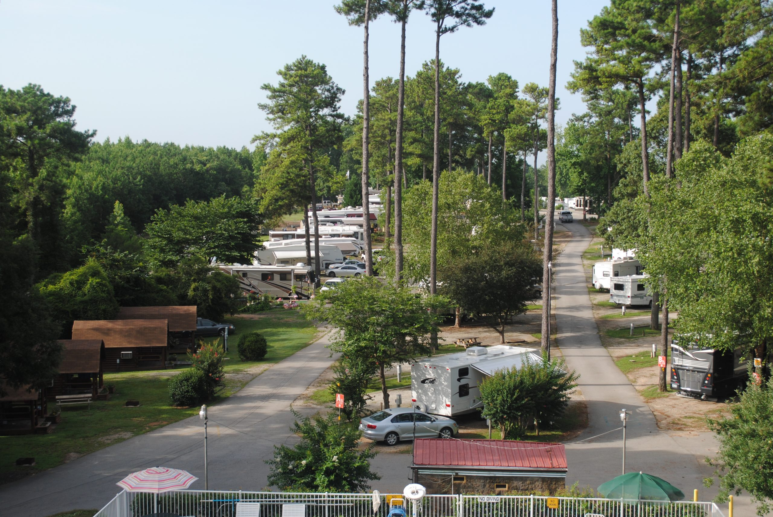 Atlanta South RV Resort - site layout