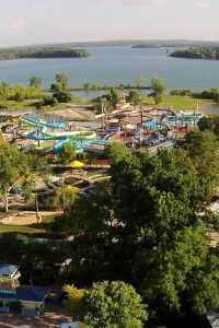 Nashville Shores Lakeside Resort - Aerial View