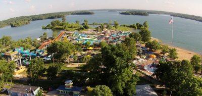 Nashville Shores Lakeside Resort - Aerial View