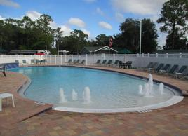 Seminole Campground - pool