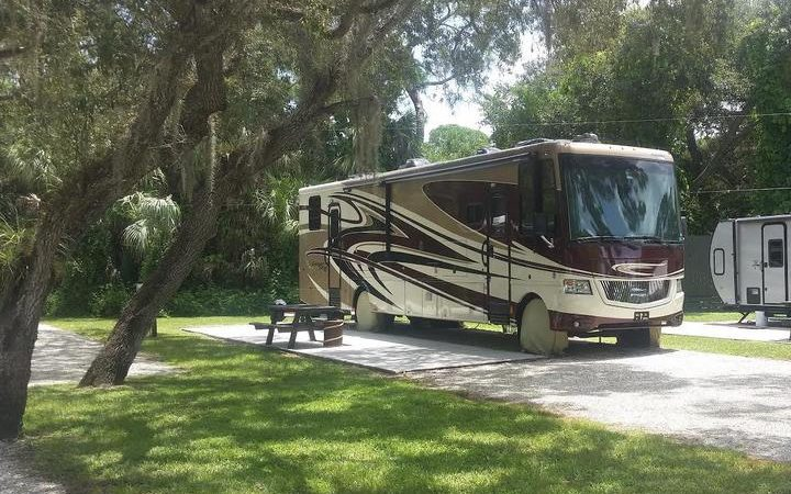 Seminole Campground - RV site