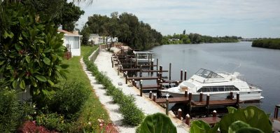 Tampa South RV Resort - waterfront