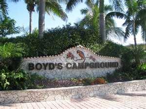 Boyd's Key West Campground entrance