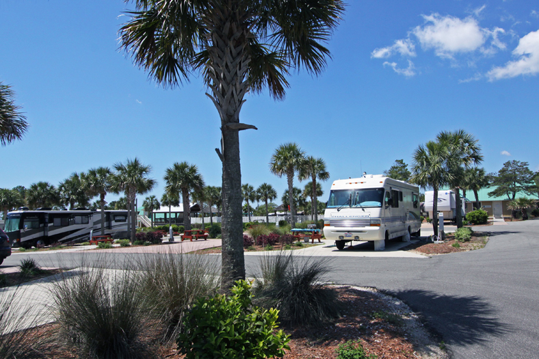 Carrabelle Beach Rv Resort In Florida Fun And Comfort On