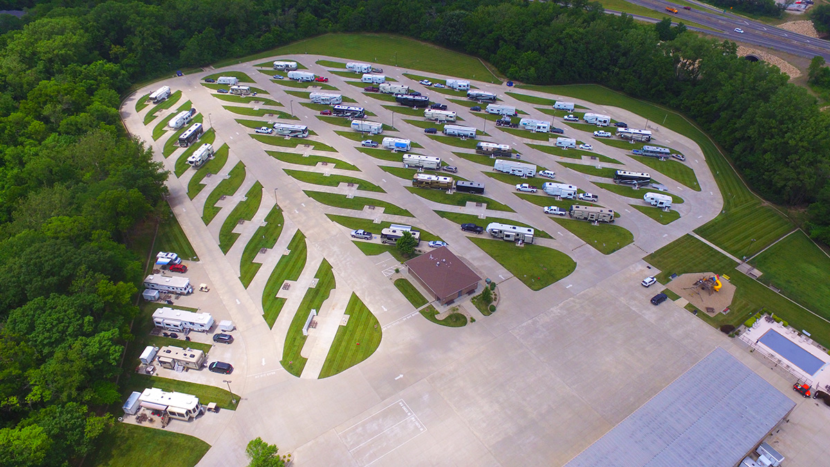 Deer Creek Valley RV Park - Aerial View