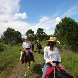 Lake Okeechobee - horseback riding