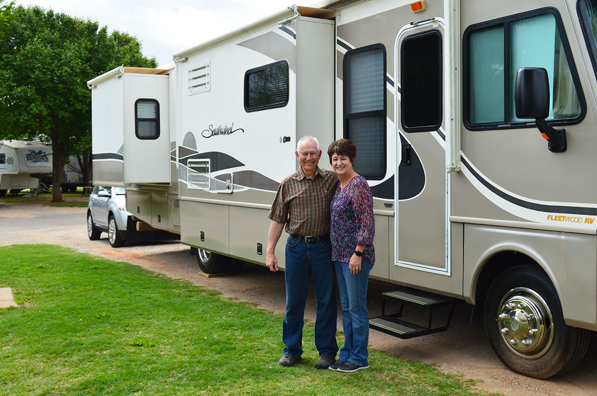 RV sales rep team texas