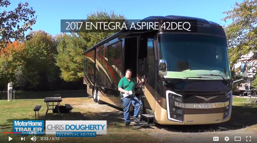 VIDEO Entegra Aspire review Trailer Life DIY