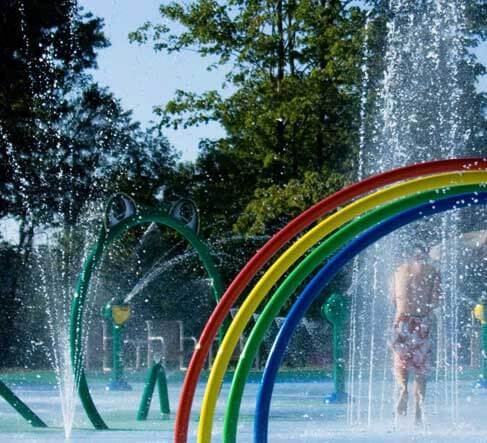 Sherwood Forest RV Park & Campground - Splash Pad