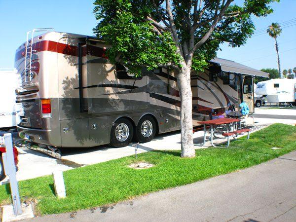 Anaheim RV Park - RV site