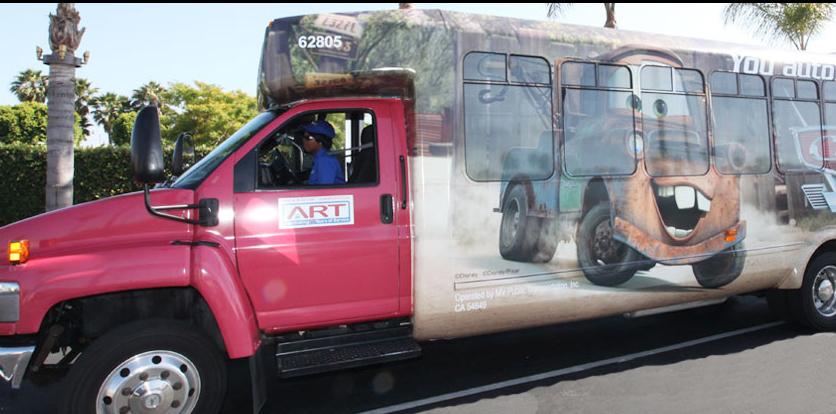 Anaheim RV Park - Disney shuttle