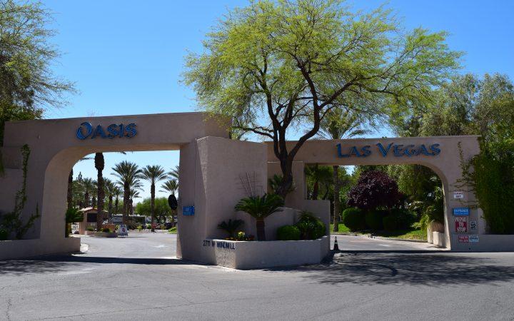 Oasis Las Vegas RV Resort - entrance