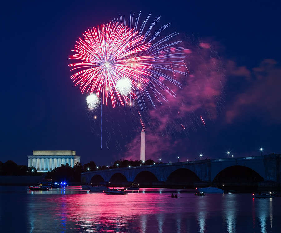 rv travel and july fourth