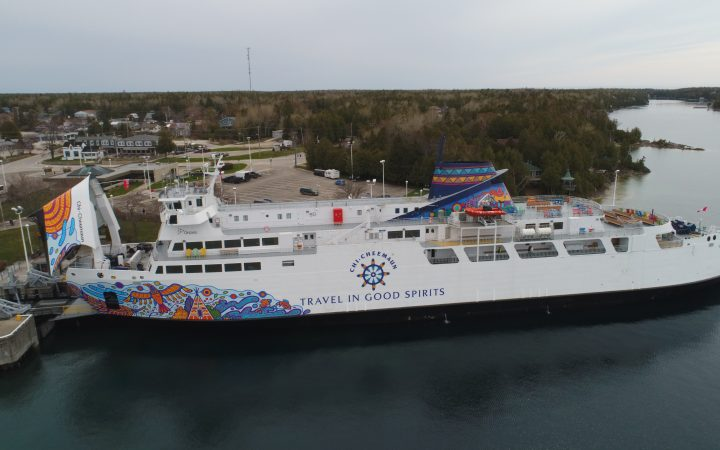 Ontario ferry the M.S. Chi-Cheemaun: Travel in Good Spirits