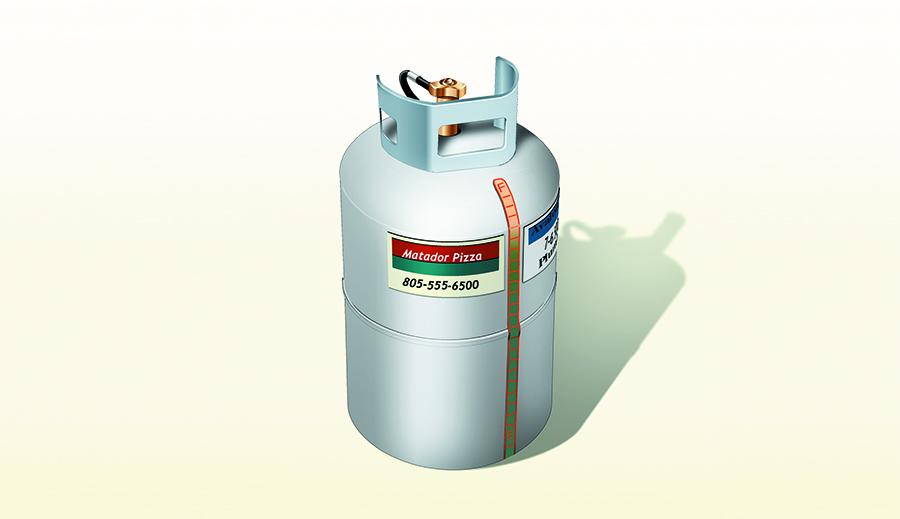 Rv Tech Tips For Lp Gas Measuring Measuring Remaining Gas