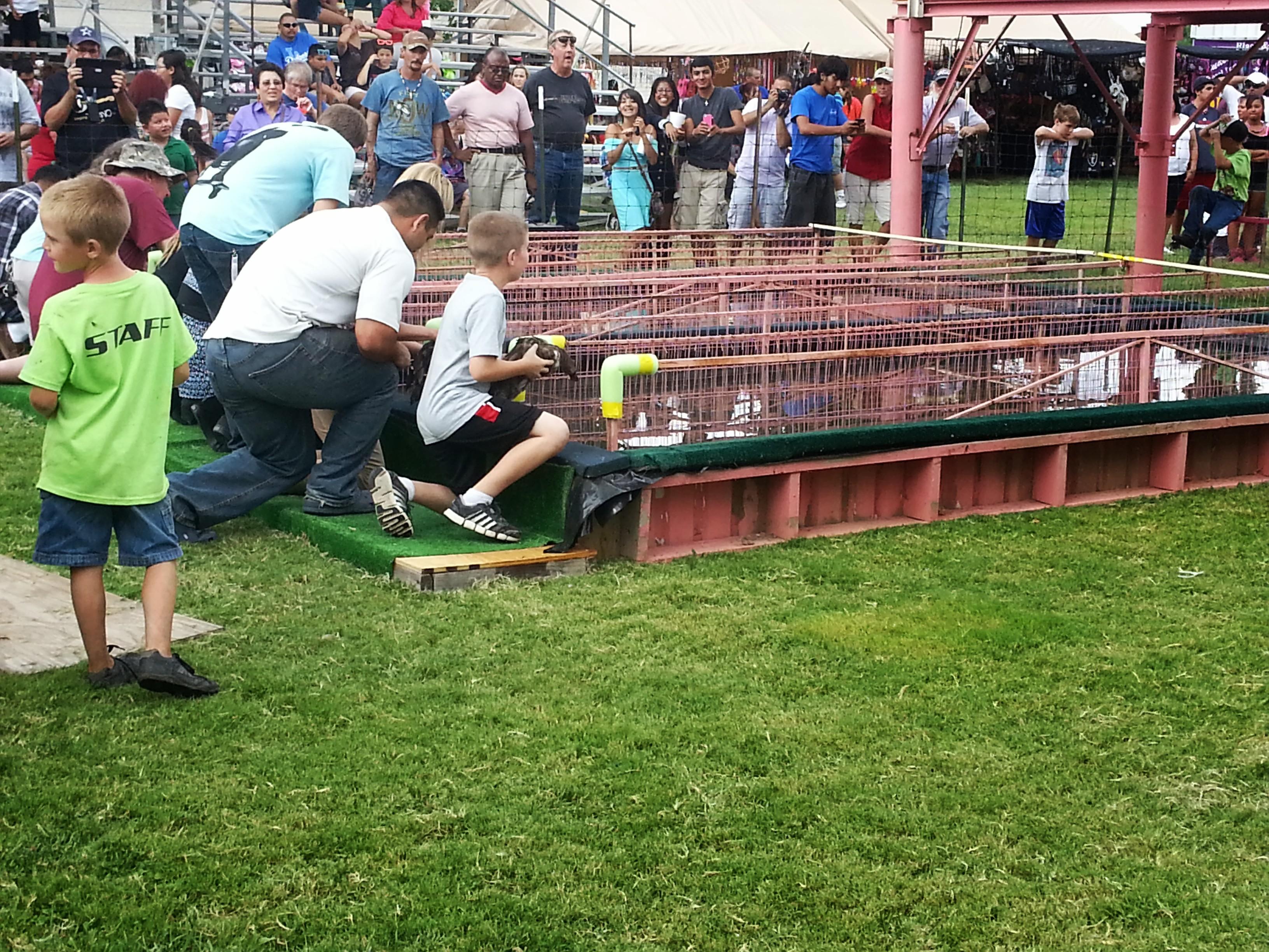 Little Vineyard RV Park - duck race