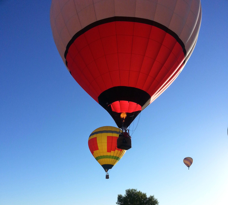 Little Vineyard RV Park - Hot Air Balloon