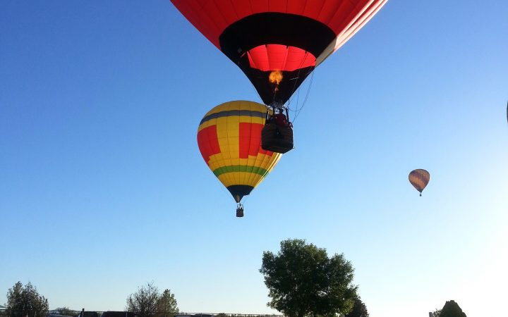 Deming Duck Races - Hot Air Balloon Ascension