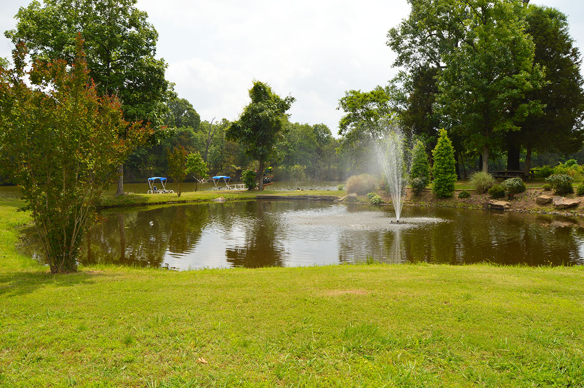 Long Lake Resort & RV Park - pond