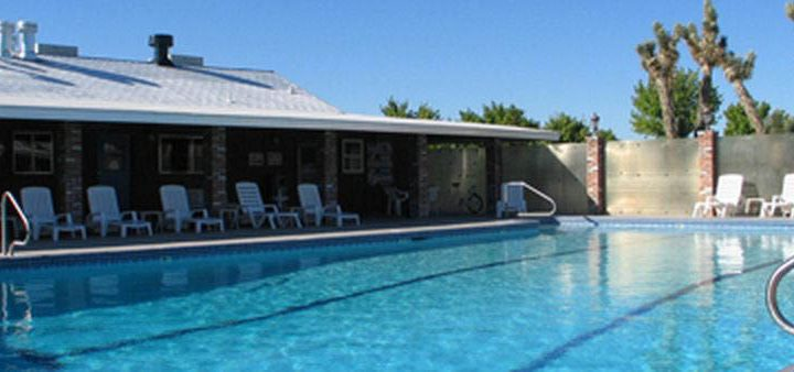 America's Air Show - Enjoy the pool at Hitchin' Post RV Park