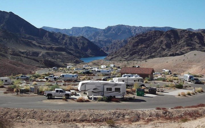 Willow Beach Harbor - RV sites