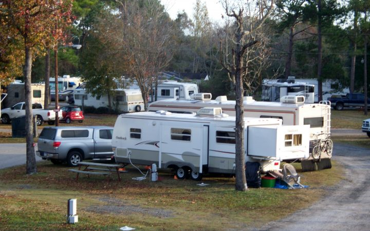 Golden Isles RV Park - RV sites