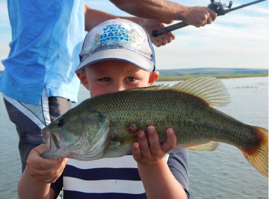 MarDon Resort - Boy with fish
