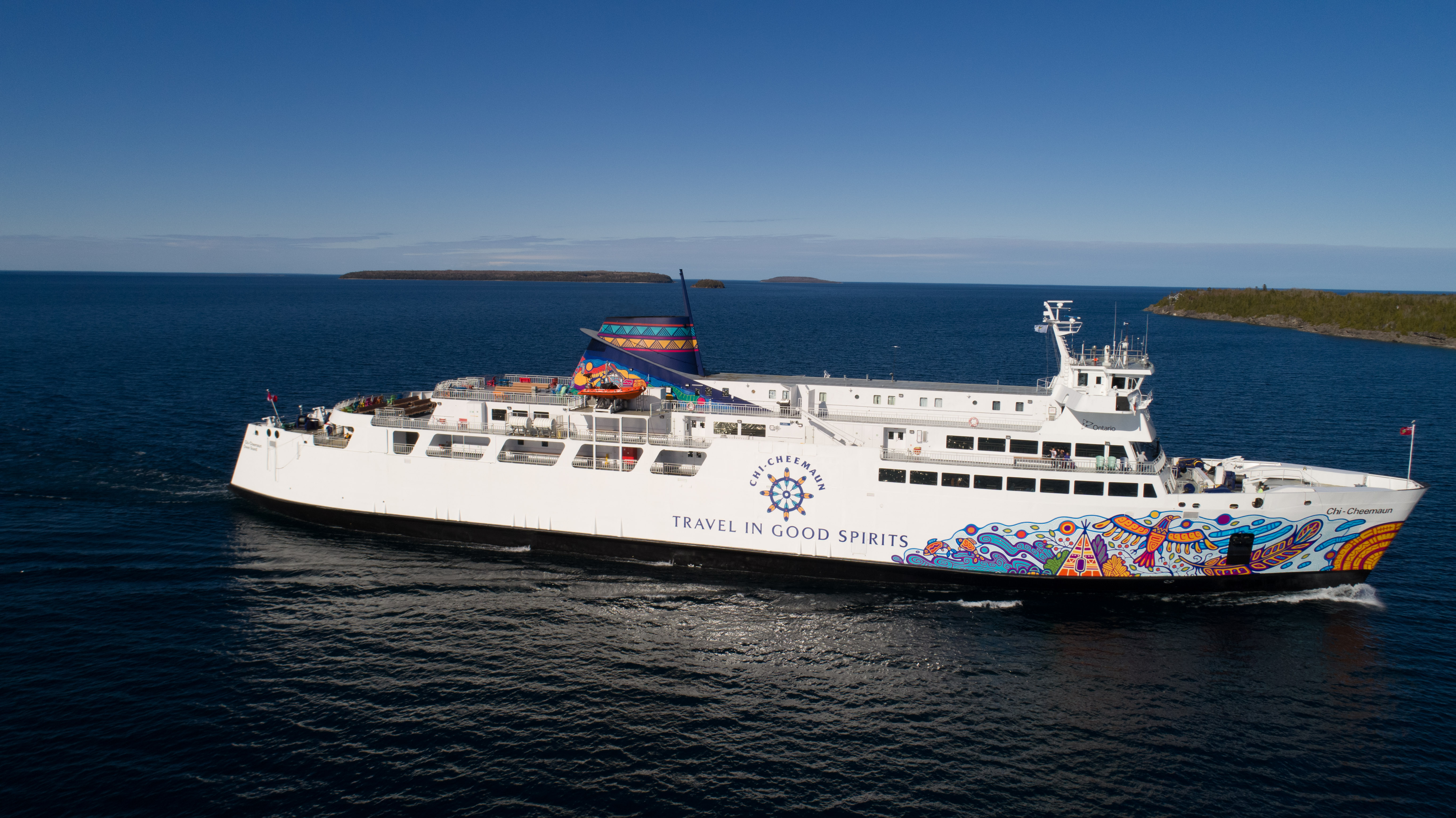 Take The Chi Cheemaun Ferry To Manitoulin Island A Place