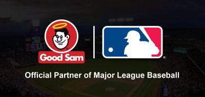 Good Sam and MLB logo