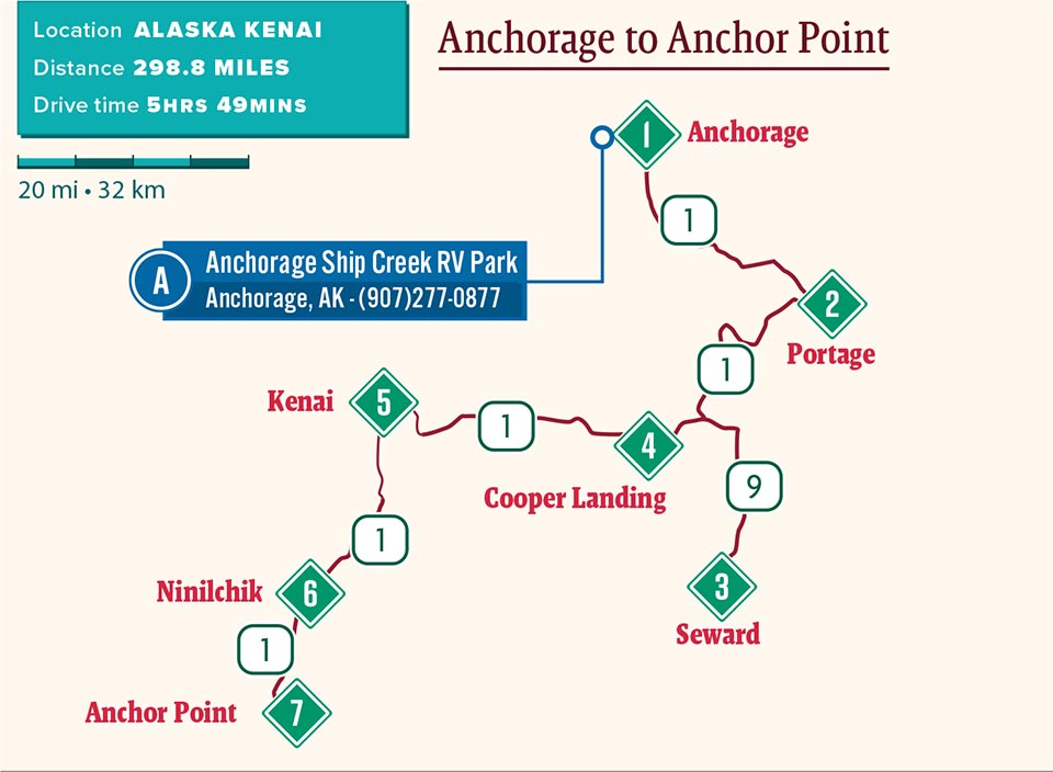 Anchorage To Anchor Point Good Sam Camping Blog