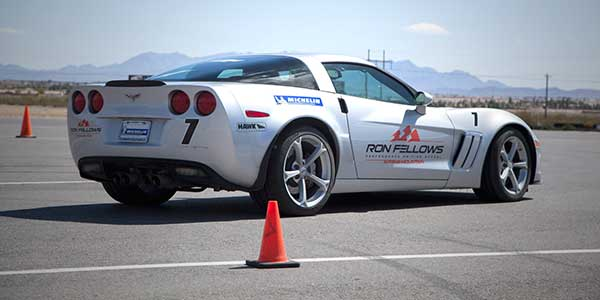 Corvette read to hit trzack.