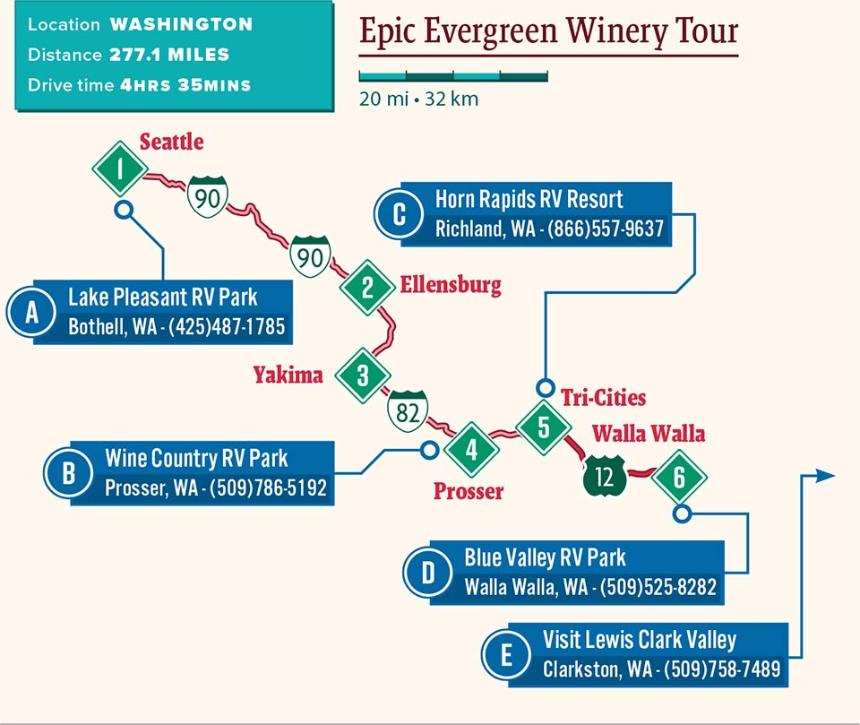 Epic Evergreen Winery Tour Good Sam Camping Blog