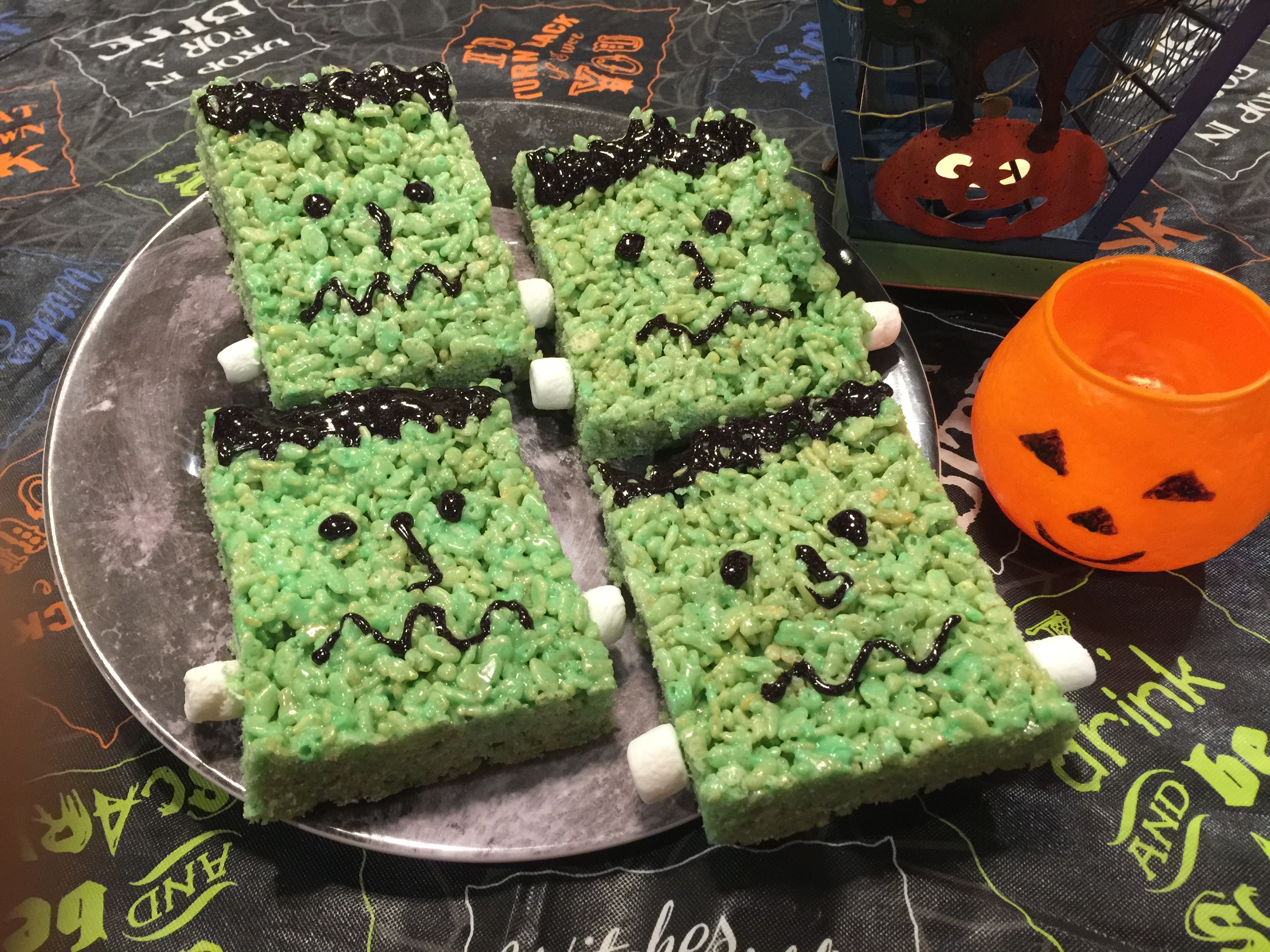 Marshmallow Monster Treats