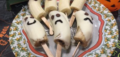 Boo-Nana Ghost Treats