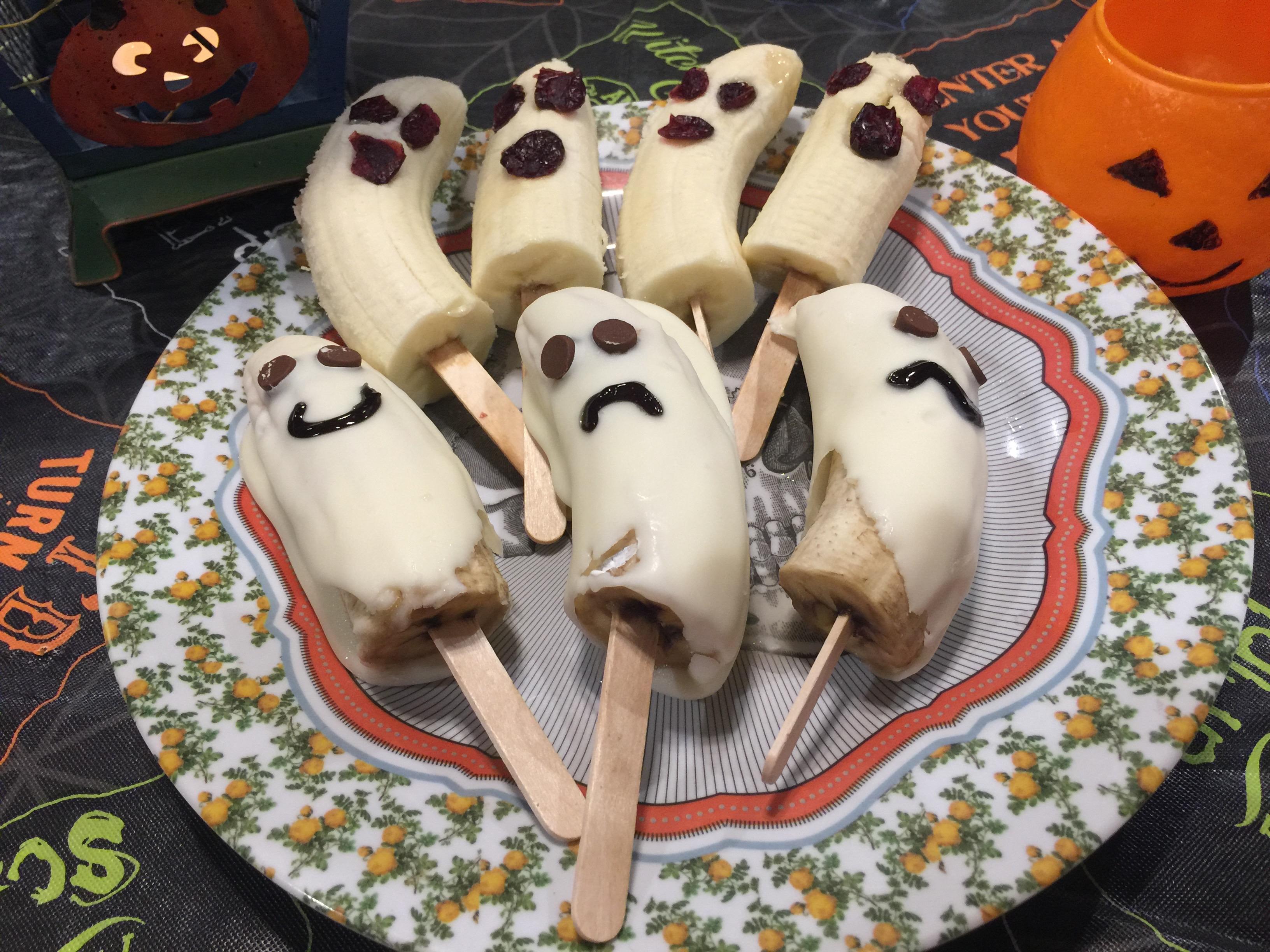 Boo-Nana Ghost Treats