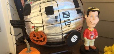 RV Painted Pumpkin