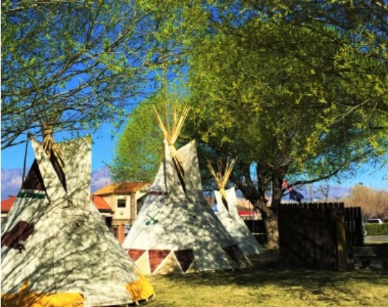 WillowWind RV Park - teepees on site