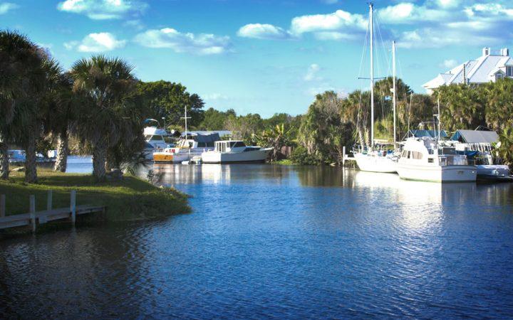 The Glades RV Resort - marina