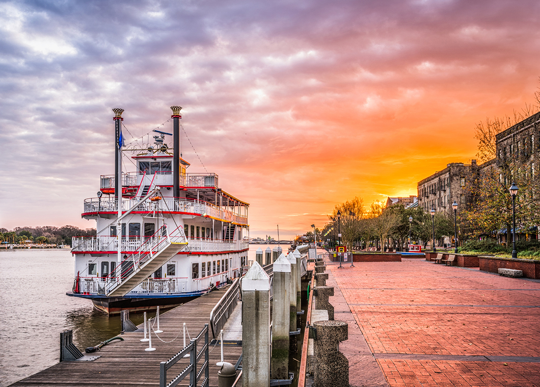 southern hospitality and warm temperatures paddleboat moored on a dock