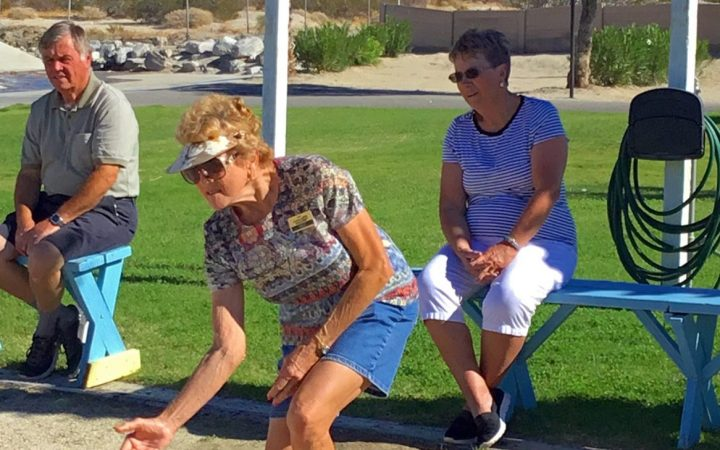 Catalina Spa RV Resort - bocce ball