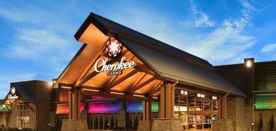 Cherokee Casino Grove - entrance