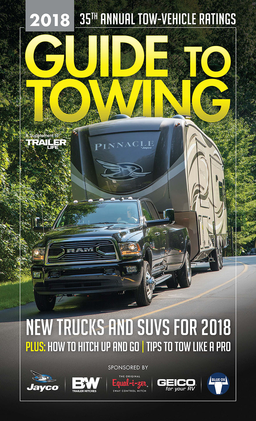 Get The Ultimate Rv Towing Guide For 2018 Trailer Life S