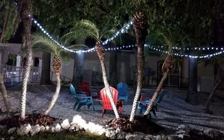 Boardwalk RV Resort - nighttime