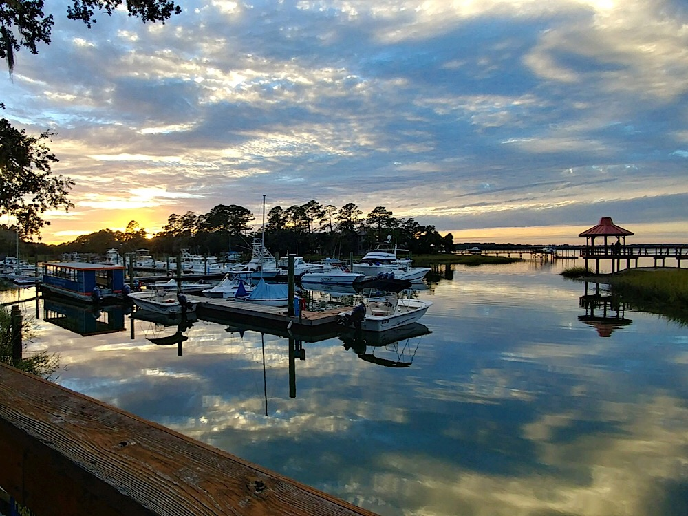 Hilton Head Harbor RV Resort & Marina - dock
