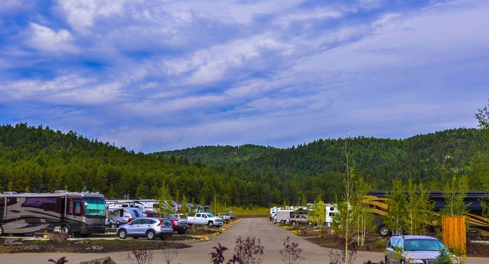Angel Fire RV Resort - view of RV sites