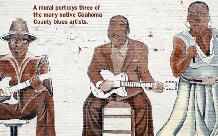 Clarksdale, Mississippi - wall mural