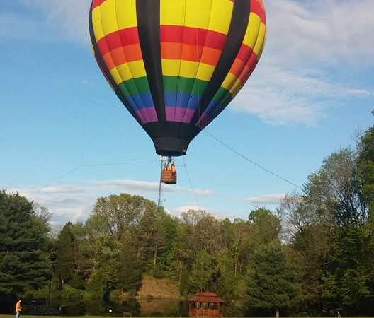 Hot Air Balloon rides at the County Fairgrounds