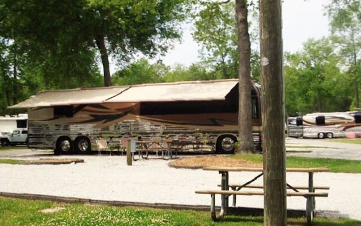 Oak Plantation Campground - RV site