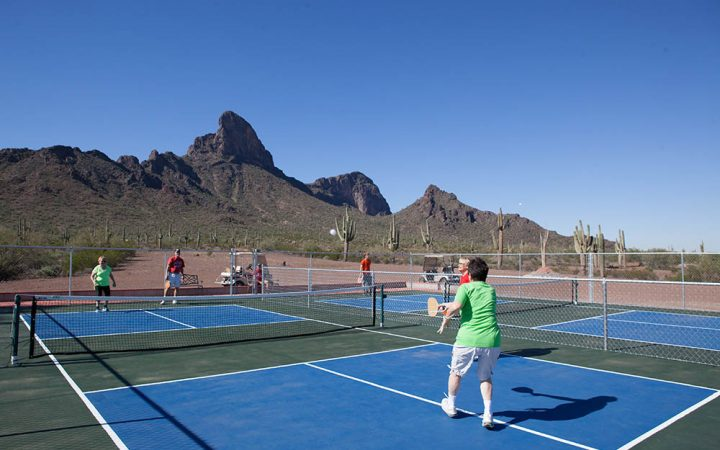 Picacho Peak RV Resort - pickleball